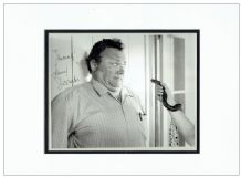 Harry Secombe Signed Photo Display